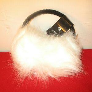Faux Fur fuzzy earmuffs NWT
